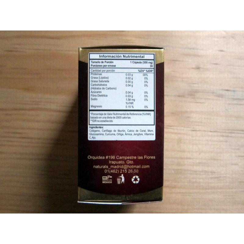 HSS 4-pack of food supplements